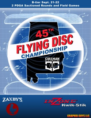 45th Alabama Flying Disc Championship graphic