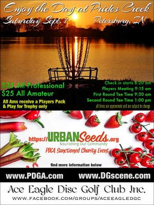 Enjoy the Day at Prides Creek to benefit Urban Seeds graphic