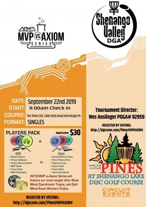 MVP vs Axiom at The Pines graphic