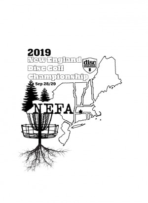 2019 New England Disc Golf Championship (NEFA Finals) graphic