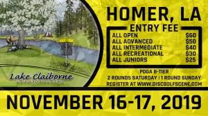 Dynamic Discs Presents: 2019 Lake Claiborne Championships graphic