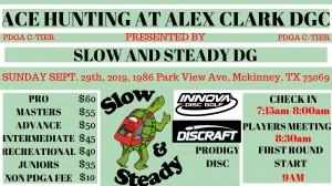 Ace Hunting at Alex Clark Memorial DGC graphic