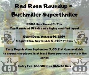 Red Rose Roundup - Buchmiller Superthriller graphic
