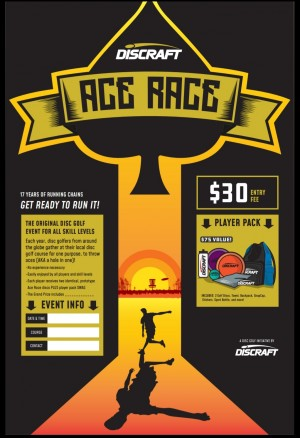 Outpost 19 1st annual Ace Race Tournament graphic