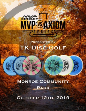 MVP VS AXIOM - Presented by TK Disc Golf graphic