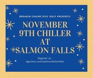 November Chiller at Salmon Falls graphic