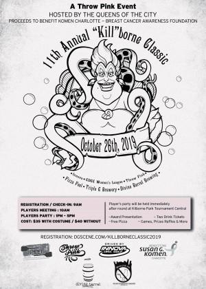 "11th Annual ""Kill""borne Classic a Throw Pink Event graphic"