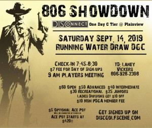 806 Showdown - DISConnect One Day C Tier @ Plainview graphic