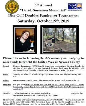 5th Annual Derek Sorensen Memorial graphic