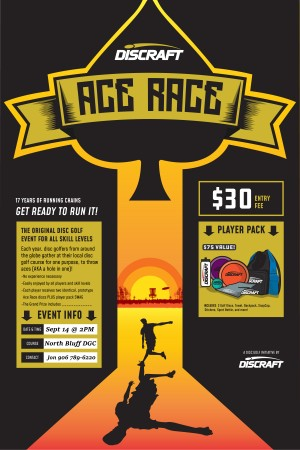 Ace Race @ North Bluff DGC graphic