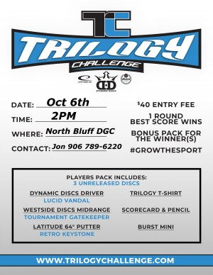 Trilogy Challenge @ North Bluff DGC graphic