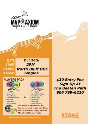 MVP VS Axiom @ North Bluff DGC graphic