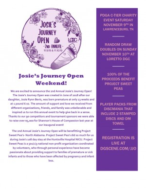 Josie's Journey Open graphic