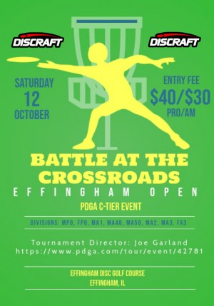 Effingham Open - Battle at the Crossroads graphic