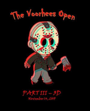 Fair Winds Brewing Company Presents The Voorhees Open: Part III in 3D Sponsored by Discraft graphic
