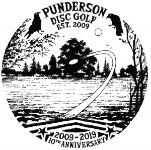 Decade of Discing at Punderson --- 10 Year Anniversary Glow Throw Doubles graphic