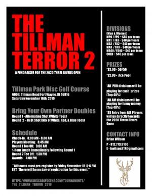 The Tillman Terror 2 graphic