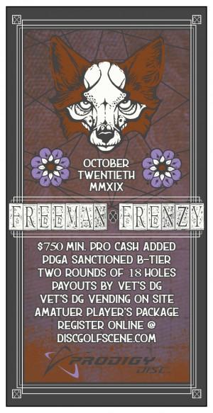 Freeman Lake Frenzy graphic