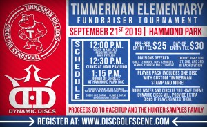 2019 Timmerman Elementary Fundraiser Tournament graphic