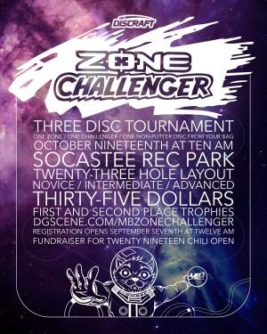 2019 Zone Challenger graphic
