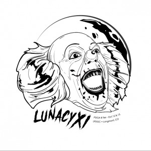 Lunacy XI sponsored by Grossen Bart Brewery graphic