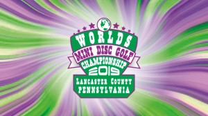 2019 Mini Disc Golf World Championship graphic