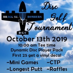 First Annual Bragg Street Bombers Fundraiser Tournament graphic