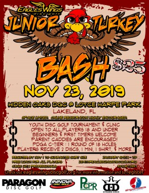 Eagles Wings JUNIOR Turkey Bash graphic