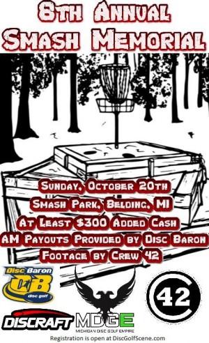 8th Annual SMASH Memorial graphic