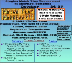 Match Play Madness VII graphic