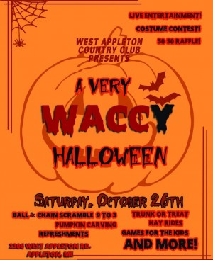 WACCY HALLOWEEN  Ball and Chain scramble. graphic