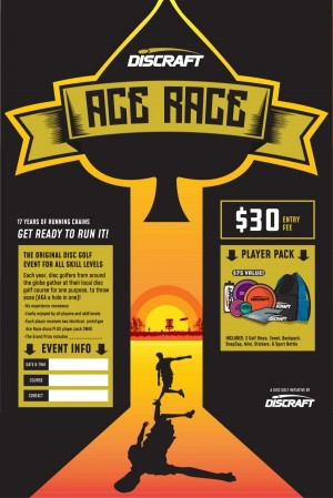 Annual Greater Rochester Disc Golf Club Ace Race graphic