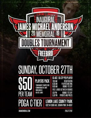 2019 James Michael Anderson Memorial Doubles Tournament graphic
