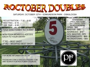 Roctober Doubles graphic