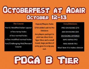 Octoberfest @ Adair graphic