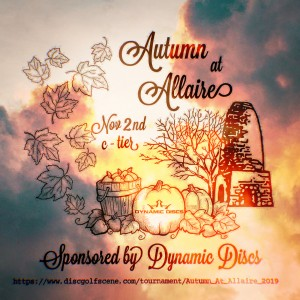 Autumn At Allaire Sponsored by DYNAMIC DISCS graphic