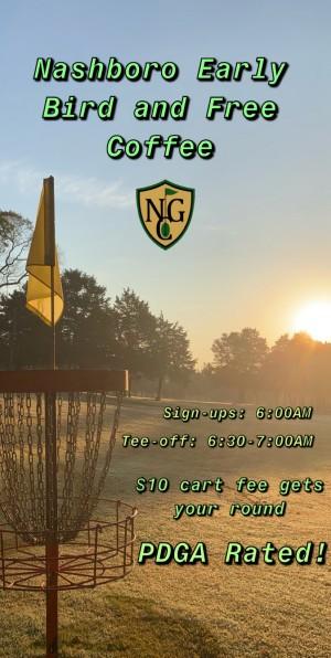 Nashboro Early Bird and Free Coffee--Week 3 graphic