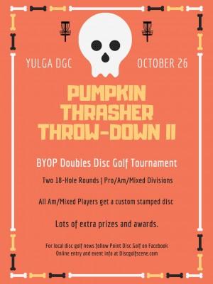 Pumpkin Thrasher Throw-Down II graphic