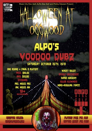 Halloween at Oggwood - ALPO's VooDoo Dubz graphic