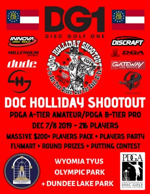DG1 Presents: The Doc Holliday Shootout graphic