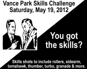 Vance Park Skills Challenge graphic