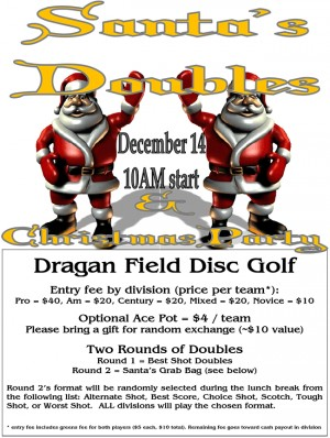 Santa's Doubles graphic