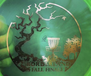 2019 Borderland Fall Finale - Powered By Discmania! graphic