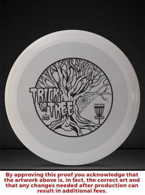 Trick or Tree sponsored by Dynamic Discs graphic