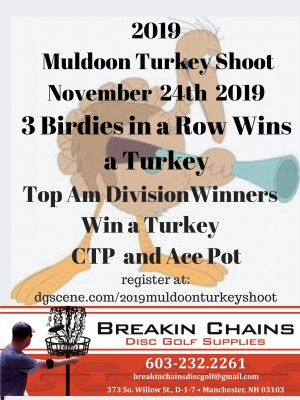2019 Muldoon Turkey Shoot graphic