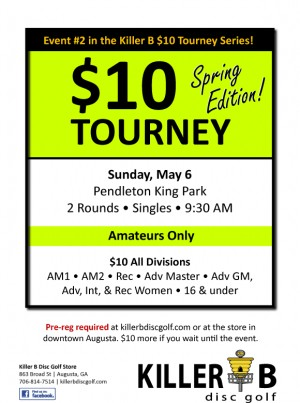 Killer B $10 Tourney - Spring Edition graphic