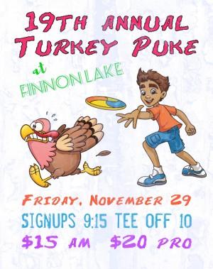 19th Annual Turkey Puke graphic