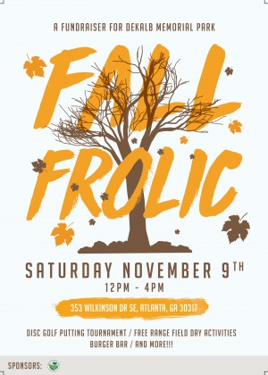 Fall Frolic Putting Tournament graphic