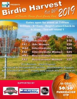Birdie Harvest 2019 graphic
