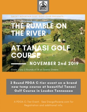 The Rumble on the River graphic